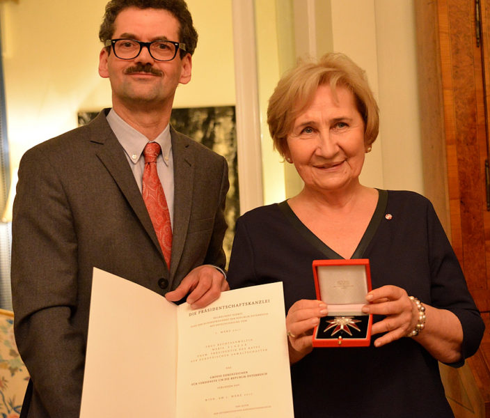 Maria Ślązak awarded