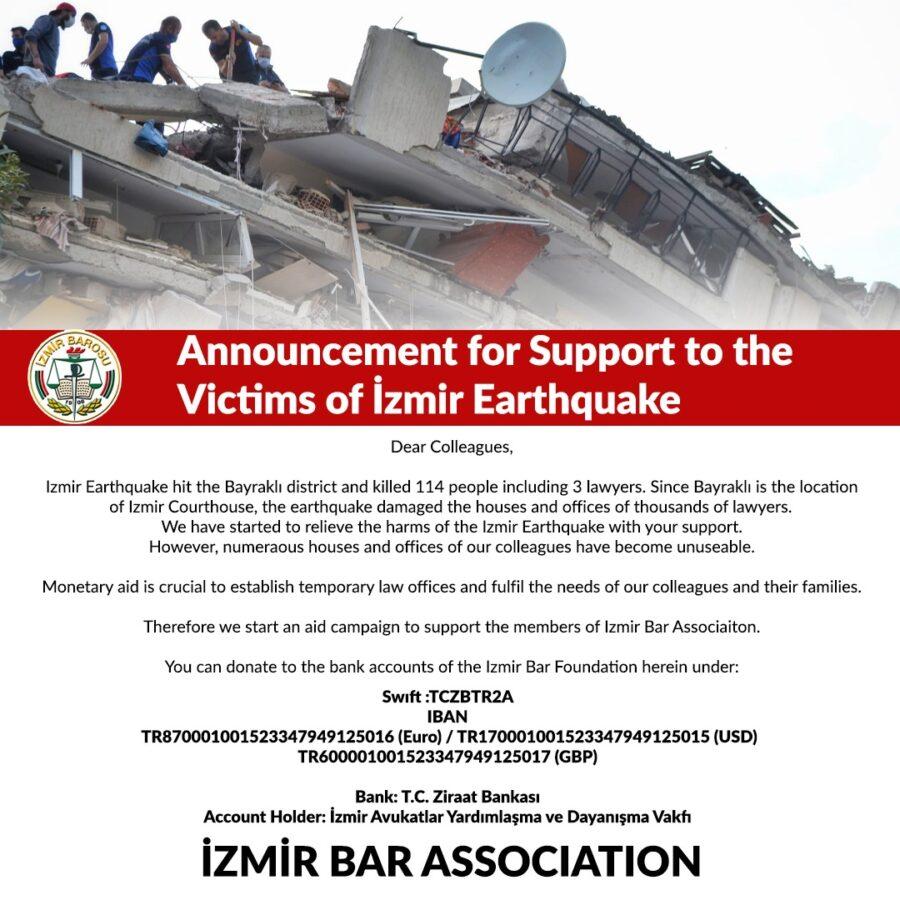 Izmir Bar new bank info