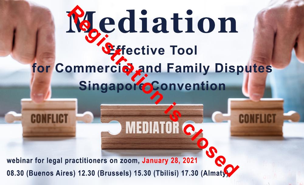 closed mediation banner