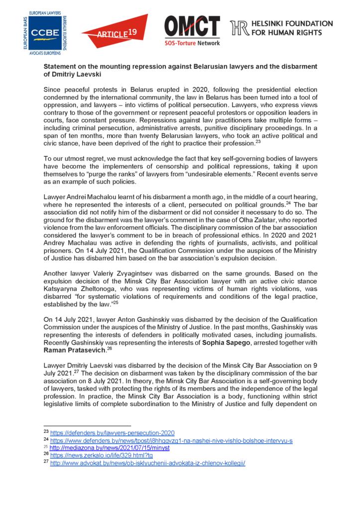 EN_RU_20210802_Belarus_lawyers_Laevski-Statement_Segnees_Strona_05