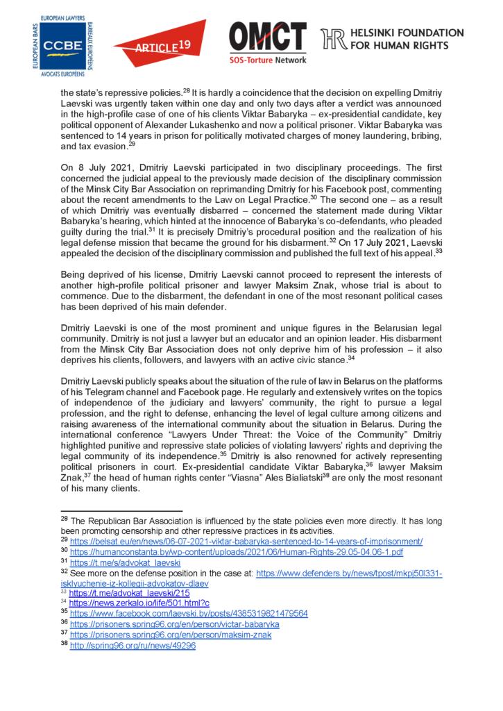 EN_RU_20210802_Belarus_lawyers_Laevski-Statement_Segnees_Strona_06
