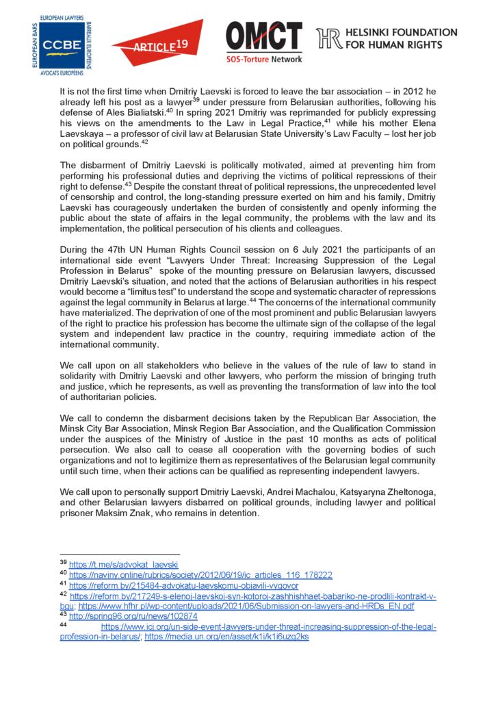 EN_RU_20210802_Belarus_lawyers_Laevski-Statement_Segnees_Strona_07